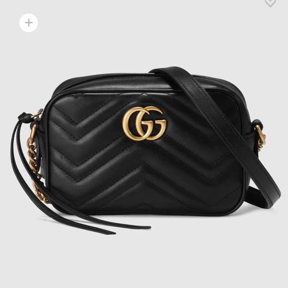 Gucci Bags Marmont Mini Camera Bag Poshmark